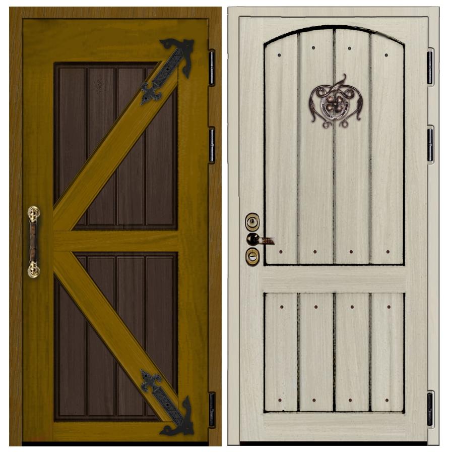 Входная дверь Кантри ДК 17