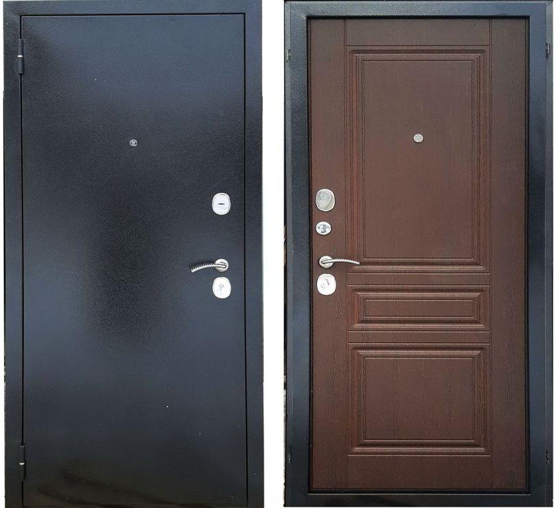 Дверь входная Рим Орех Премиум