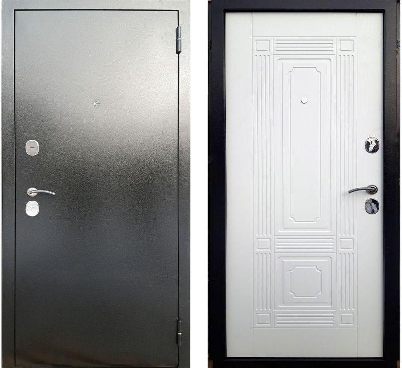 Дверь входная Рокка Белый Ясень