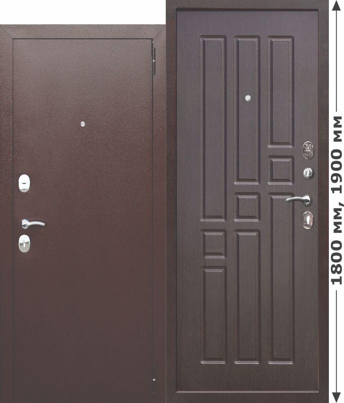 Нестандартная входная металлическая дверь Garda mini