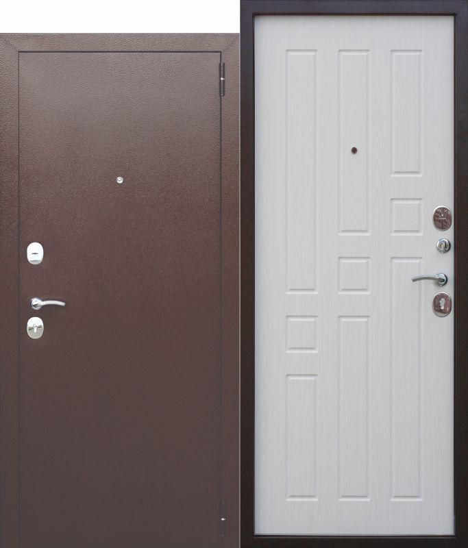 Входная дверь Гарда 8 мм Белый ясень