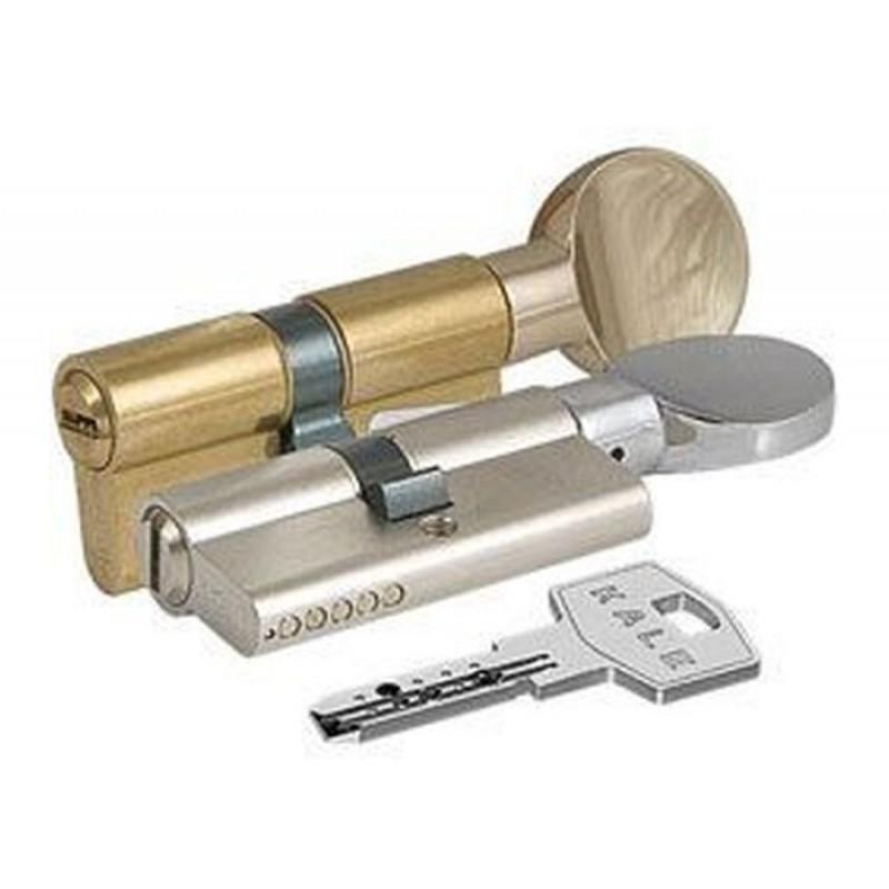 Цилиндровый механизм 164 BМ 72мм (30х10х32) никель