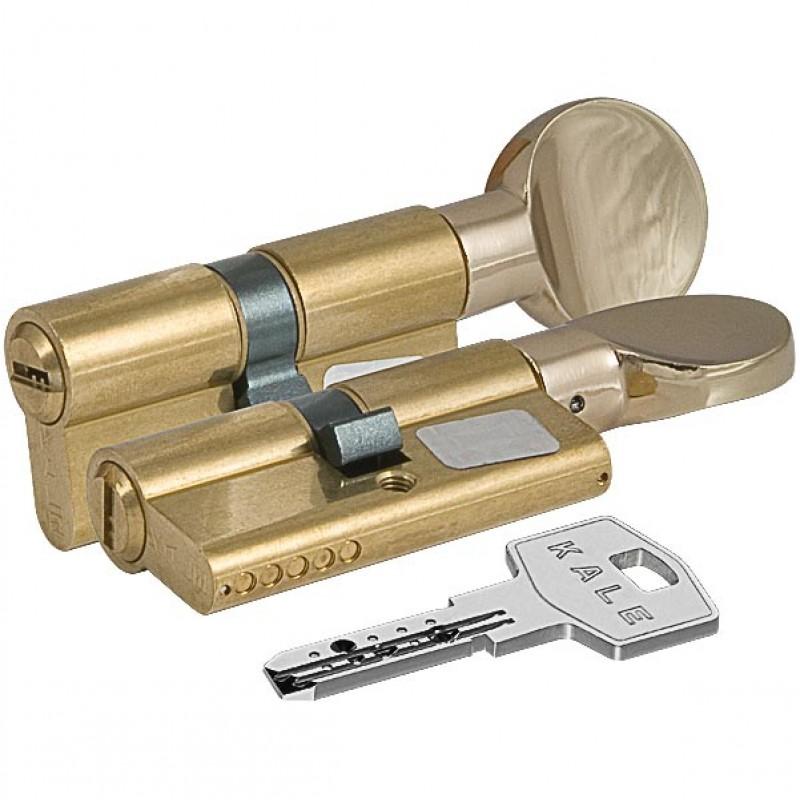Цилиндровый механизм 164 BM 75мм (30х10х35) латунь