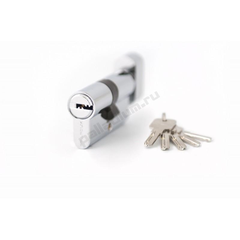 Цилиндровый механизм 60 C BK CP перфо к/верт хром PALLADIUM 00011114