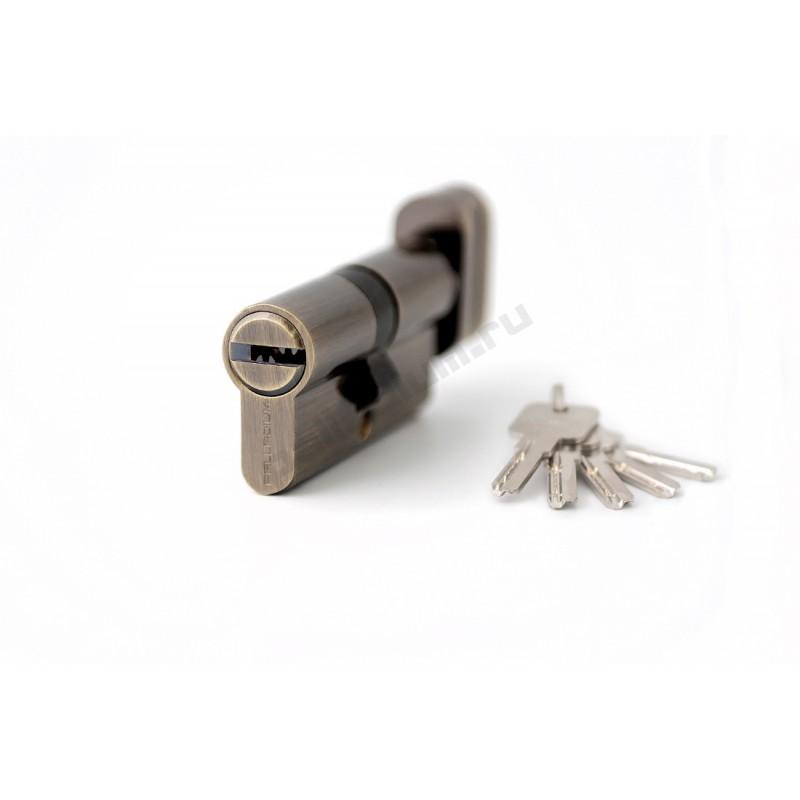 Цилиндровый механизм 80 C BK AB перф. кл/верт PALLADIUM 00011464