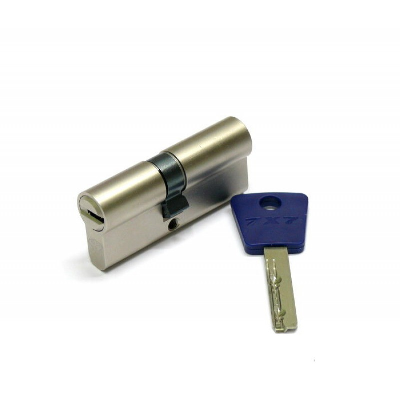 Цилиндр (7х7) L 71 Ш d30 (38х33) к\к никель