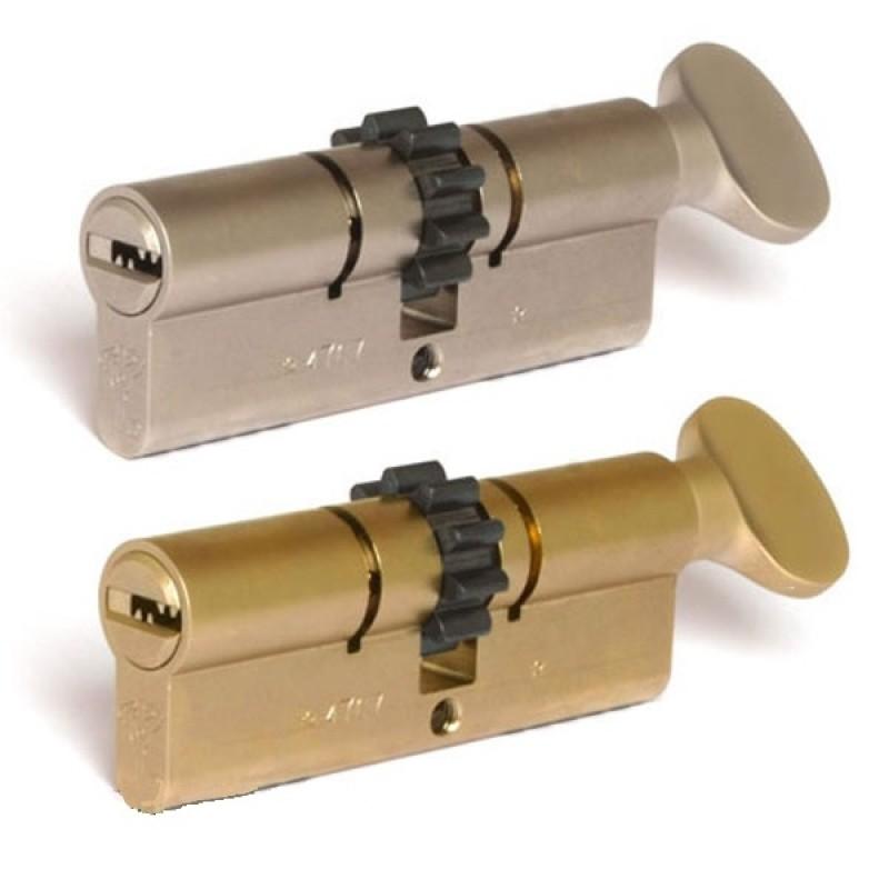 Цилиндр (7х7) L 71 ТШ (33Тх38) к/верт. никель