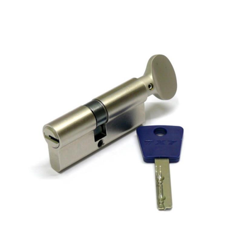 Цилиндр (7х7) L 76 ТФ (33х43Т) к/верт. никель