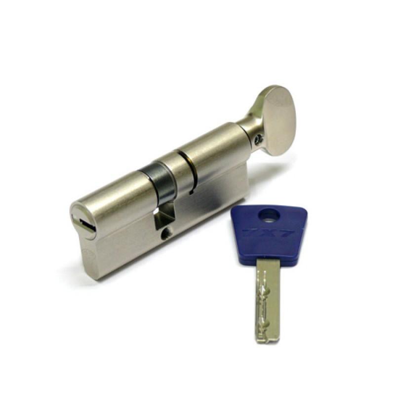 Цилиндр (7х7) L 80 ТФ (40х40T) кл/верт. латунь
