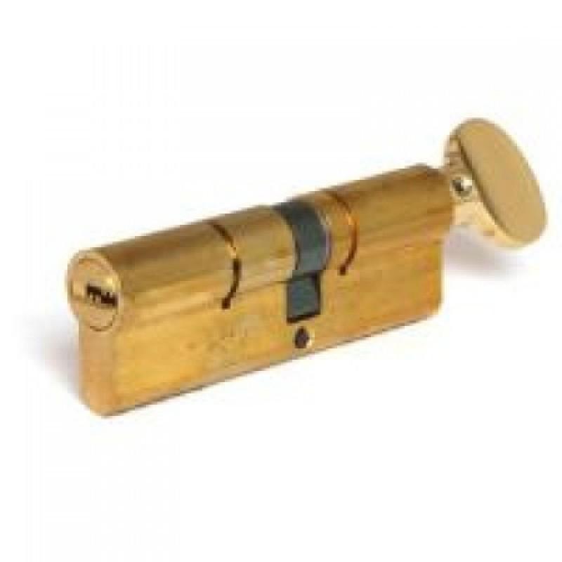 Цилиндр (7х7) L 85 ТФ (40х45Т) кл/верт. латунь