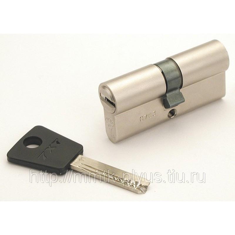 Цилиндр (7х7) L 90 ТФ (50Тх40) к/б никель