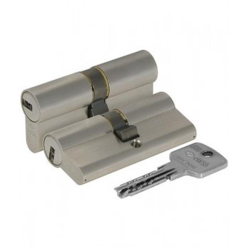 Цилиндровый механизм OA310-29.12 Astral (90мм 40+10+40) никель