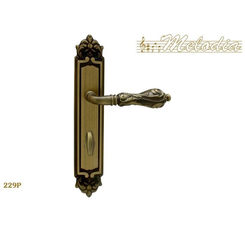MELODIA Ручка на пластине 229 Wc MAB