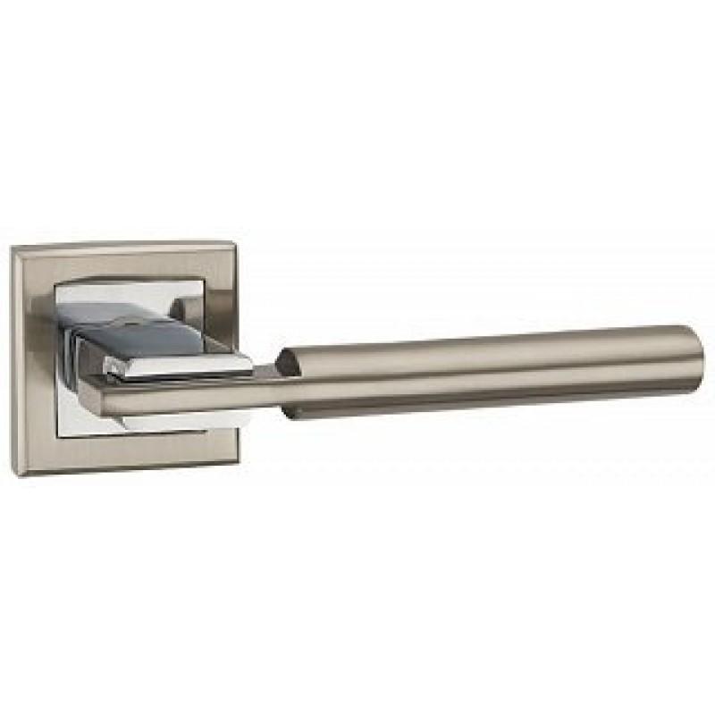Ручка раздельная CITY QL SN/CP-3 матовый никель/хром 33083