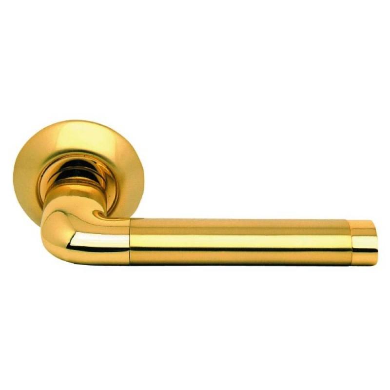 Ручка  дверная ARCHIE S010 47 II (мат.латунь)