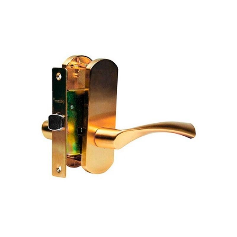 Ручка  дверная ARCHIE T111-X11I-V3 (мат.латунь)