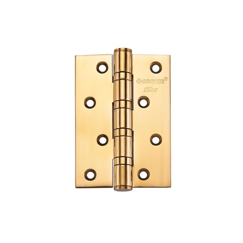 Петля  A010-C 100X70X3-4BB P.GOLD SILLUR 511869