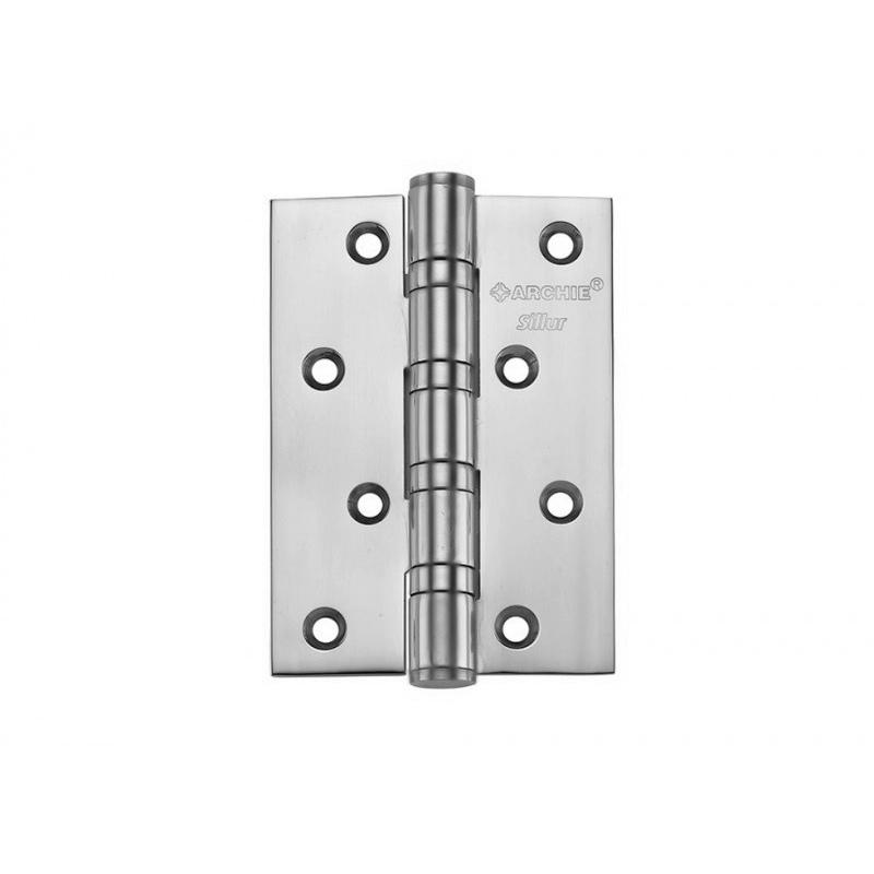 Петля A010-C 100X70X3-4BB S.CHROME SILLUR 511870