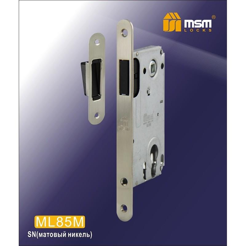 Замок врезной ML 85M-I SN никель MSM