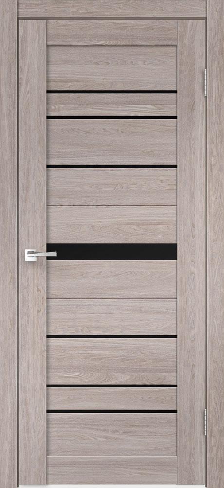 Двери CITY 1 - Лакобель черное