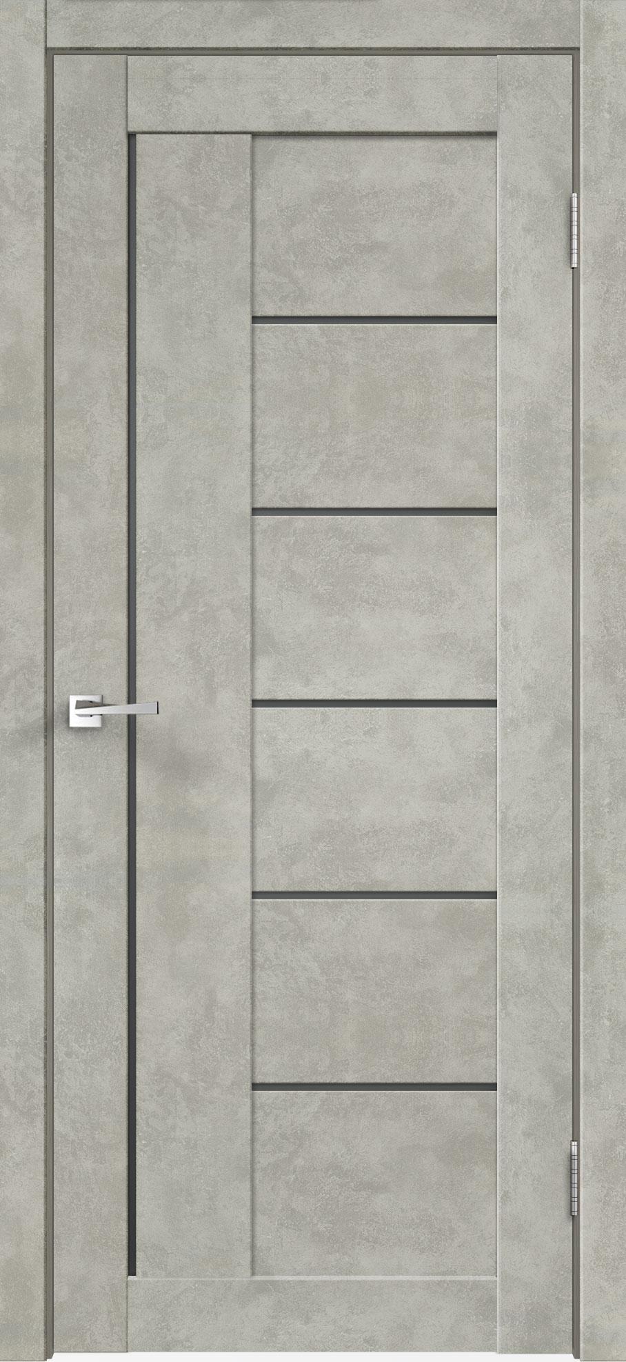 Двери LOFT 3 - Мателюкс графит