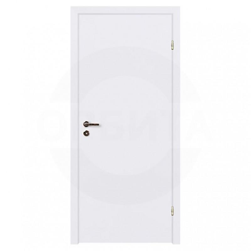 Дверь финская гладкая окрашенная с четвертью
